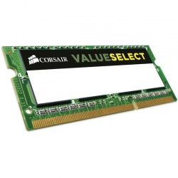 Memorie notebook Corsair ValueSelect, 2GB, DDR3, 1066MHz, CL7, 1.5v
