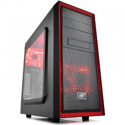 Carcasa Deepcool Tesseract SW red