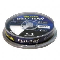 BD-R Traxdata 25Gb 4X Printabil , Cake Box , 10 buc