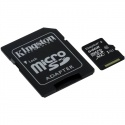 Card memorie Kingston Micro SDXC 64GB Clasa 10, UHS-I, ver G2 + Adaptor SD