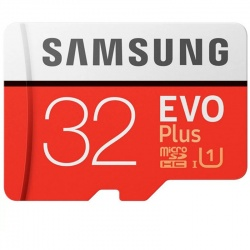 Card memorie Samsung EVO Plus (MODEL 2017) microSDHC UHS-I Clasa 10 32GB + Adaptor