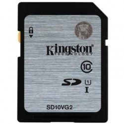 Card memorie Kingston SDHC 16GB Clasa 10 UHS-I, ver G2