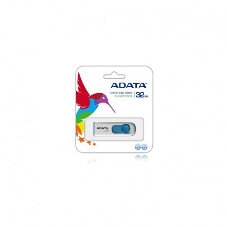 Memorie externa ADATA Classic C008 32GB alb/albastru