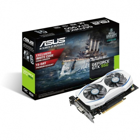 Placa video ASUS GeForce GTX 950 OC 2GB GDDR5128-bit
