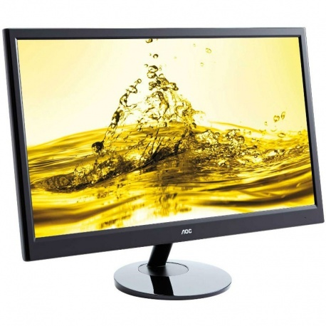 Monitor LED AOC e2251Fwu 21.5 inch 5ms black