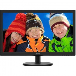 Monitor LED Philips 223V5LHSB2/00 21.5 inch 5ms Black