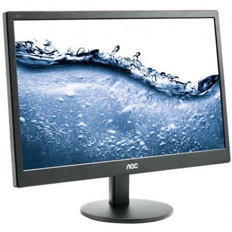 Monitor LED AOC e2070Swn 19.5 inch 5ms black