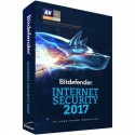 Securitate Bitdefender Internet Security 2017, 3 PC, 1 an, New License, Retail