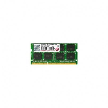 Memorie notebook Transcend JetRam, 4GB, DDR3, 1333MHz, CL9, 1.5v