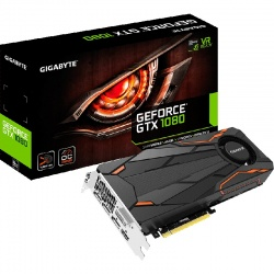 Placa video GIGABYTE GeForce GTX 1080 Turbo 8GB DDR5X 256-bit