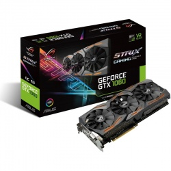 Placa video ASUS GeForce GTX 1060 STRIX GAMING 6GB DDR5 192-bit