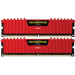 Memorie Corsair Vengeance LPX Red 16GB DDR4 3000MHz CL15 Dual Channel Kit