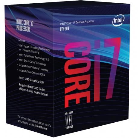 Procesor Intel Coffee Lake, Core i7 8700 3.20GHz box