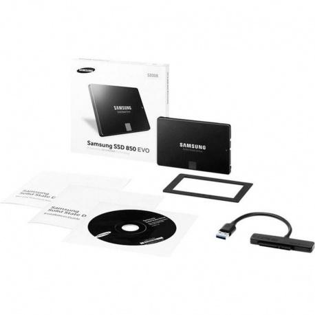 SSD Samsung 850 EVO 500GB SATA-III 2.5 inch Starter Kit