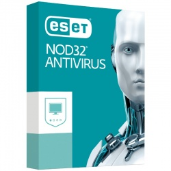 Securitate ESET NOD32 Antivirus v10, 1 PC, 1 an, New license, Retail