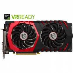 Placa video MSI GeForce GTX 1060 GAMING X 6GB DDR5 192-bit