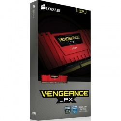 Memorie Corsair Vengeance LPX Red 8GB DDR4 2400MHz CL14