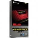 Memorie Corsair Vengeance LPX Red 8GB DDR4 2400MHz CL14