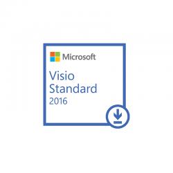 Aplicatie Microsoft Licenta Electronica Visio Standard 2016