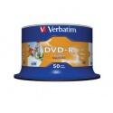 Blankuri Verbatim 43533 DVD-R 16x,4.7GB ,printabile, 50 buc. sp50pk