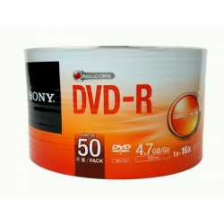 DVD SONY 4.7 GB , viteza 16x , DVD-R set 50 buc