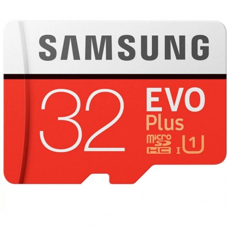 Card memorie Samsung EVO Plus (MODEL 2017) microSDHC UHS-I Clasa 10 32GB + Adaptor
