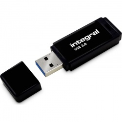 Memorie externa Integral Black 64GB USB 3.0