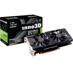 Placa video Inno3D GeForce GTX 1060 Twin X2 3GB DDR5 192-bit