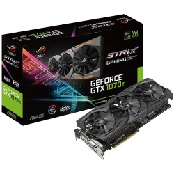 Placa video ASUS GeForce GTX 1070 Ti STRIX GAMING A8G 8GB GDDR5 256-bit