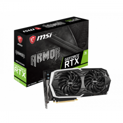 Placa video MSI GeForce RTX 2070 ARMOR 8GB GDDR6 256-bit