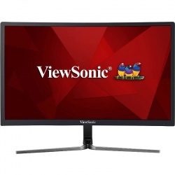 Monitor LED ViewSonic Gaming VX2458-C-MHD Curbat 23.6 inch 1 ms Black FreeSync 144 Hz