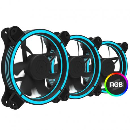 Ventilator / radiator SilentiumPC PRO Corona RGB 120 3pack