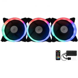 Ventilator / radiator Floston AURORA RGB 3 fan kit