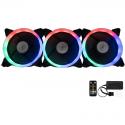Ventilator / radiator Floston AURORA RGB 3 fan kit