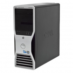 Dell Precision T3500 Intel Xeon X5650 2.66 GHz,Six Core, 4 GB- 120 SSD , placa video Quadro NVS315 1 gb,  Tower