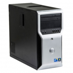 Dell Precision T1600 Intel Xeon E3-1225 v1  3.10 GHz, 4 GB DDR 3, 120 GB SSD, DVD-ROM,  Placa Video 1 gb NVS315 ddr3, Tower