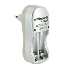Incarcator Whitenergy, baterii 2xAA/AAA, 2xAA/R6 2800mAh