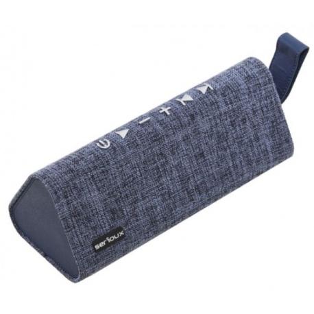 Boxa portabila Serioux Wave Prism, Bluetooth, 3W, Blue