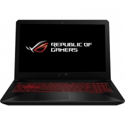 Laptop ASUS Gaming 15.6'' TUF FX504GE, FHD, Procesor Intel® Core™ i7-8750H