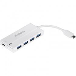 Hub USB TRENDnet TUC-H4E2 White