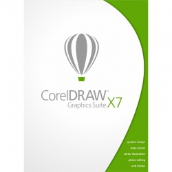 Corel DRAW Graphics Suite X7, box, Windows OS