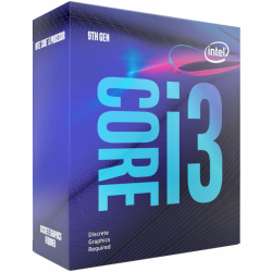 Procesor Intel Coffee Lake, Core i3 9100F 3.60GHz box