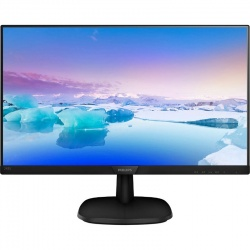 Monitor LED Philips 243V7QDAB 23.8 inch 5 ms Black
