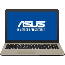 Laptop ASUS 15.6'' VivoBook 15 X540UA, FHD, Procesor Intel® Core™ i3-7020U 4GB DDR4, 1TB, GMA HD 620 Chocolate Black