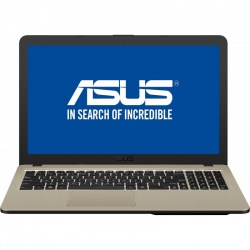 Laptop ASUS 15.6'' VivoBook 15 X540UB, FHD, Intel® Core™ i3-7020U (3M Cache, 2.30 GHz), 4GB DDR4, 256GB SSD, GeForce MX110 2GB