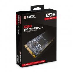 SSD Emtec Power Plus X250 256GB SATA-III M.2 2280