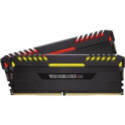 Memorie Corsair Vengeance RGB LED 16GB DDR4 3200MHz CL16 Dual Channel Kit