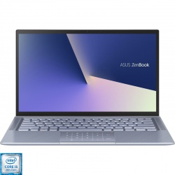 Ultrabook ASUS 14'' ZenBook 14 UX431FA, FHD, Procesor Intel® Core™ i5-8265U  8GB, 512GB SSD, GMA UHD 620, Free DOS, Utopia Blue