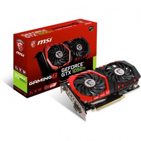Placa video MSI GeForce GTX 1050 Ti GAMING X 4GB GDDR5 128-bit