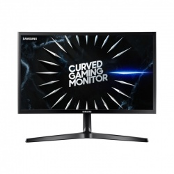 Monitor LED Samsung Gaming LC24RG50FQUXEN 23.5 inch Curbat 4 ms Black FreeSync 144Hz
